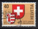 Suisse - 1978 -  n°1071 (YT) Ecussons : Jura    (O)