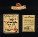 Lot 3 Etiquettes Bière Labels Beer AECHT SCHLENKERLA RAUCHBIER URBOCK BAMBERG