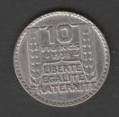 FRANCE - PIECE DE 10 FRANCS - TURIN EN ARGENT DE 1930