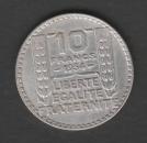 FRANCE - PIECE DE 10 FRANCS - TURIN EN ARGENT DE 1934