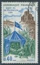 FRANCE 1968 YT 1578 oblitéré - Mort de Bertrand Du Guesclin en 1380 en Lozère