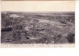 miniature Dunkerque vue générale du port  les islandais ( cliché de 1901, le minck est en construction