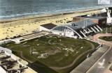 miniature Dunkerque Malo les Bains ( vue aérienne le casino golf miniature plage