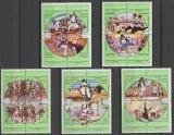 miniature SERIE NEUVE DE LIBYE - JEUX NATIONAUX N° Y&T 815 A 834