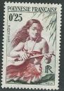 miniature Polynésie - Y&T 0002 (o)