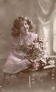 miniature PORTRAIT DE FILLETTE 1914  ( LOT K2 )