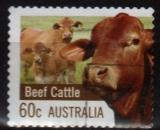Australie - 2012 -  n°3612 (YT) Agricuture : Bovins (O)