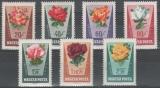 miniature Hongrie 1962 - Roses   (g728)