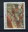 miniature Andorre 334 1984 peinture Pré Romane neuf ** TB MNH SIN CHARNELA prix de la poste 0.7
