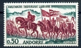 miniature Andorre 167 Charlemagne en Andorre 1963 neuf** TB MNH sin charnela cote 14 euros