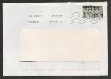 France  2013 Timbre issu du carnet Art gothique  sur lettre