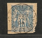 France Cachet de la Saone et Loire  GENELAND   sur N ° 90
