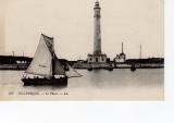 miniature Dunkerque le phare ( barque à voile
