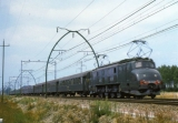 miniature ART 245 - Train - loco 2D2 5542 vers LUGOS - 33 - SNCF