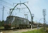 miniature ART 246 - Train - loco 2D2 5542 en gare - CAUDOS - Gironde 33 - SNCF