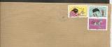 France 2013 Carnet expressions N°793, 800, 799.autoadhésifs sur lettre