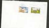 France 2013 Carnet Chevaux de trait N°815, 821.autoadhésifs sur lettre