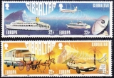 miniature Gibraltar 1988 Europa - Transports et communications Y&T 555/58 **
