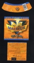 Lot 3 Etiquettes Bière Labels Beer Malheur 10