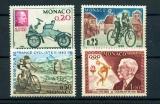 miniature MONACO  632 635 1/4 de cote 1963 anniversaires sportifs neuf ** TB MNH cote 2.9 euros