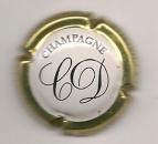 Capsule du champagne  CHRISTIAN DOUARD La Chapelle Monthodon, marqué sur le tour  parfait état