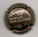 Capsule du champagne  HENIN-DELOUVIN Aÿ  parfait état
