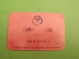 COLUCCI CARLO -  carte parfumée LIQUATOUCH