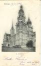 miniature Cpa 27 Evreux ,  la cathédrale , voyagée 1902