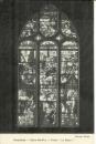 miniature Cpa 27 Conches,  Eglise ste Foy * vitrail la Manne , non voyagée