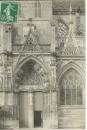 miniature Cpa 27 Pont de l'arche, l'église - le portail , voyagée 1910
