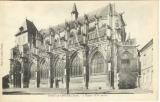 miniature Cpa 27 Pont de l'arche, l'église , voyagée 1933