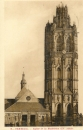 miniature Cpa 27 Verneuil , l'église de la madeleine, voyagée 1933
