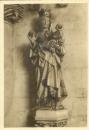 miniature Cpa 27 Verneuil ,église de la madeleine * statue La vierge au fruit , non voyagée