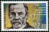 miniature Saint-Pierre et Miquelon 1995 Centenaire de la mort de Louis Pasteur - Y&T 609 **