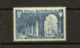 miniature France  888 1/4 de cote Saint Wandrille abbaye  1951 neuf ** TB MNH sin charnela cote 7