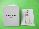 CHANEL - Carte parfumée