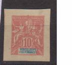 miniature GUADELOUPE       N°  41 sur Fragment d'Entier    NEUF SANS GOMME