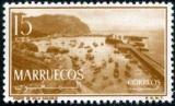 miniature Maroc espagnol (Zone Nord) 1956 Port de Villa Sanjurjo Y&T 480 **