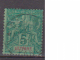 miniature GUYANE   N°   33   OBLITERE