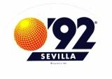 Espagne 1990 Séville - Autocollant '92 Sevilla Exposition universelle