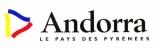 miniature Andorre 1999 - Autocollant Andorra le pays des Pyrénées