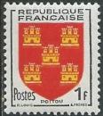 miniature France - Y&T 0952 (*) - Armoiries du Poitou -