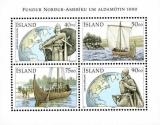 miniature Islande 2000 Découverte de l´Amérique par Leif Eriksson en l'an 1000 - Y&T BF 26 **