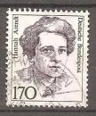 miniature Allemagne RFA 1988 YT 1223 Celebrite Femme Hannah Arendt