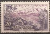 miniature France 1954 YT 1041 Mont Pele Martinique