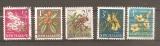 miniature Nouvelle zelande 1960 YT 384-385-386A-387 Fleurs