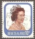 miniature Nouvelle zelande 1977 YT 701 Elizabeth II