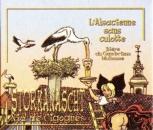 miniature France 2001 Sous-bock L´Alsacienne sans culotte - Storkanascht Nid de cigognes