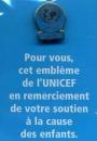 miniature Pin´s UNICEF sous pochette