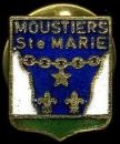 France Pin´s blason de la ville de Moustiers-Sainte-Marie (Alpes-de-Haute-Provence)